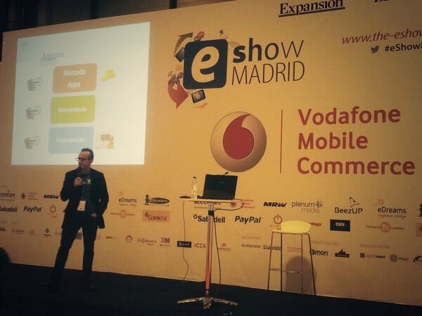 Emilio Avilés en su ponencia en el eShow Madrid
