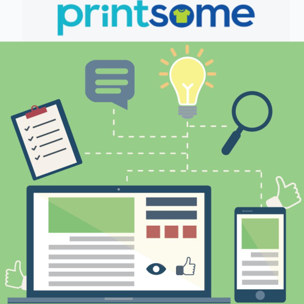 Cómo hacer una buena estrategia de Content Marketing con Printsome
