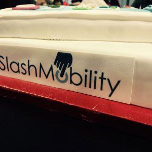 Tarta cuarto aniversario SlashMobility