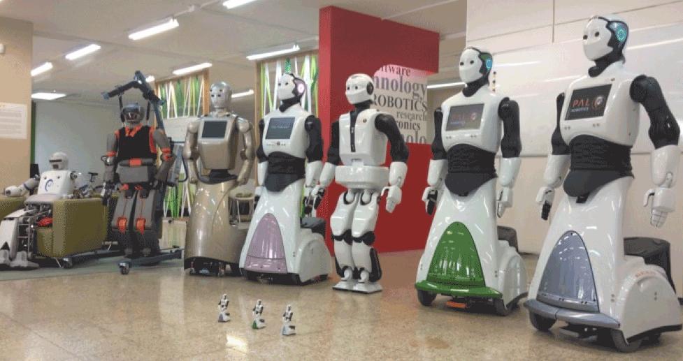 La familia de PAL Robotics
