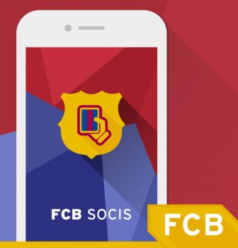 Ya está disponible la nueva app del Barça