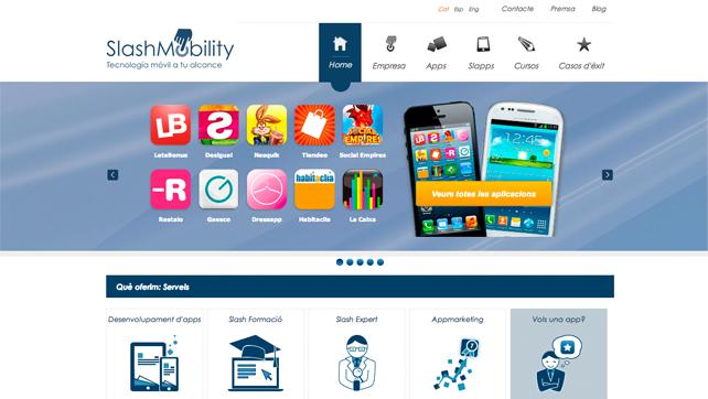 Nueva Web SlashMobility