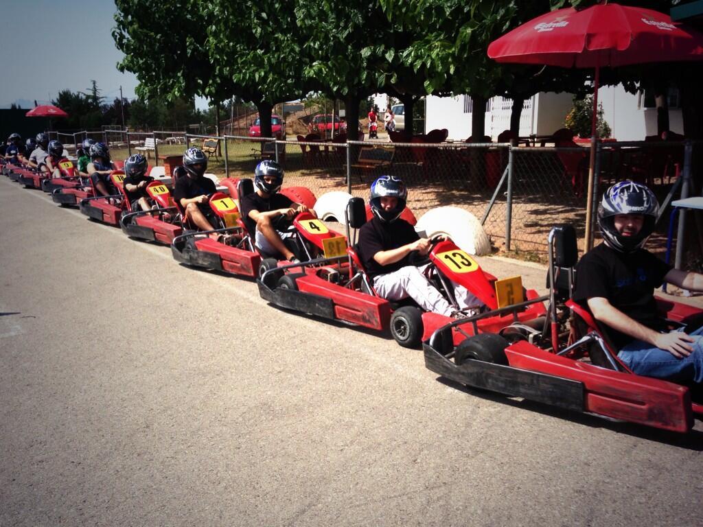 Parrilla de Salida Karting