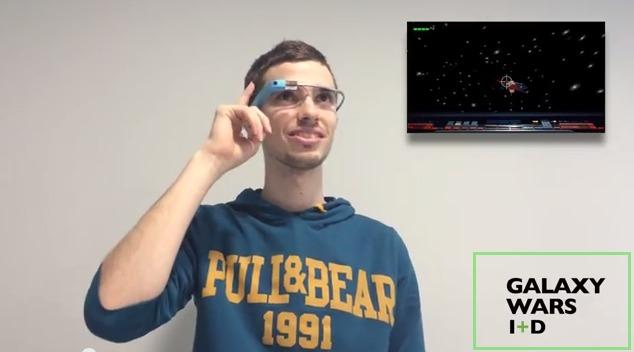 Galaxy Wars, el primer juego para Google Glass