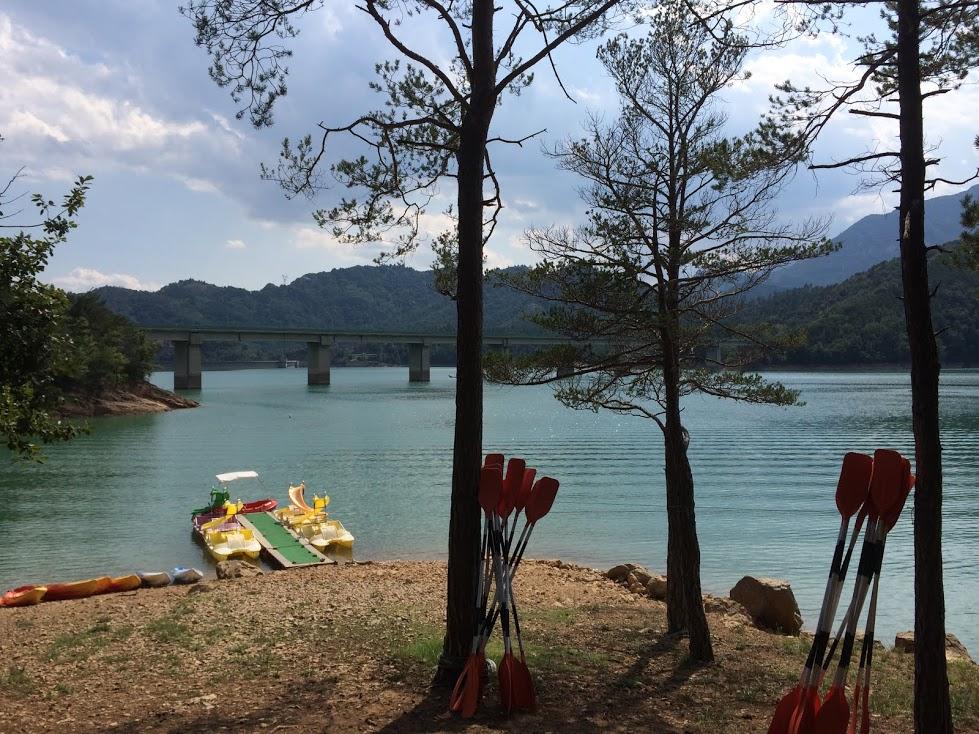 Kayaks paisaje