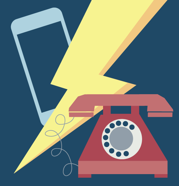 Infografía: ¿Cómo ha sido el paso del fijo al móvil?