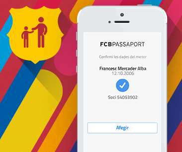 Nuestro cliente, el FCB, presenta nueva app