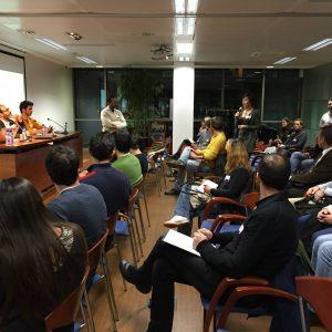 Exposición de Proyectos - Intervención emprendedores