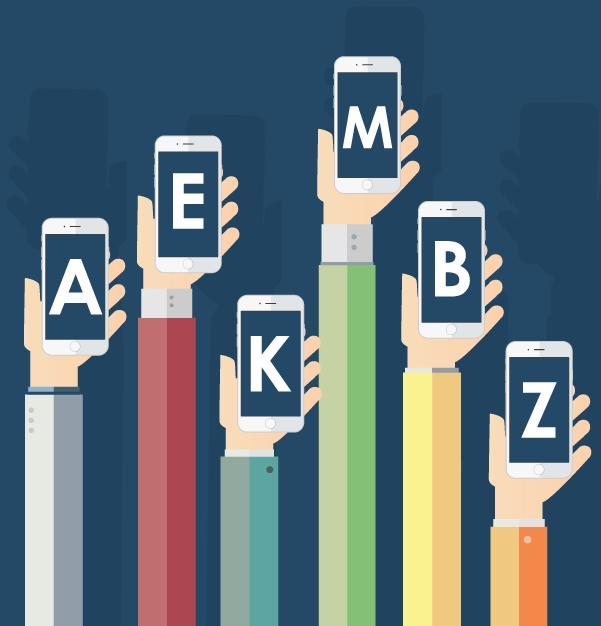 Keywords del mundo mobile de la A a la Z