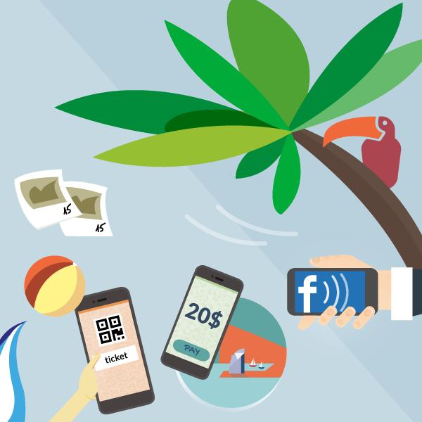 Infografía: En las vacaciones… ¡no sin mi smartphone!