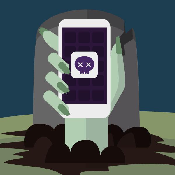 Escapa de la epidemia de las apps zombies