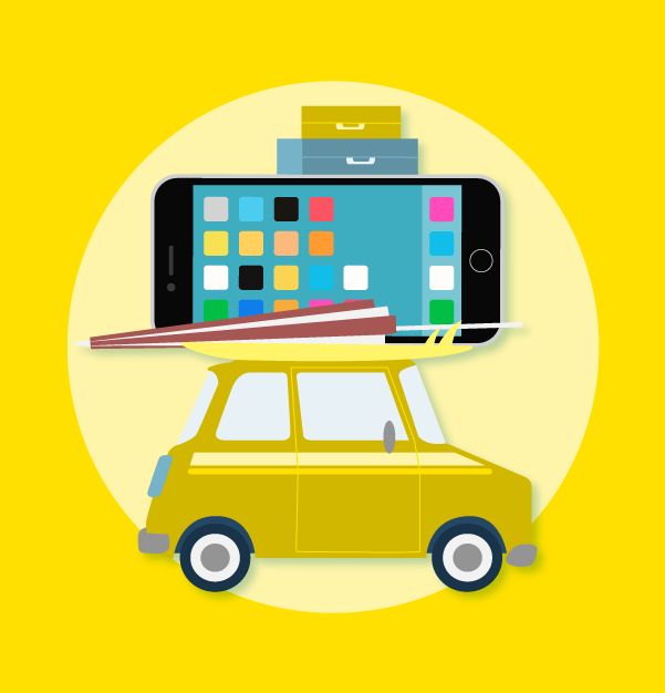 Infografía: Unas vacaciones cada vez más mobile